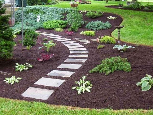 تنسيق حدائق الكويت  9.-mulch-and-stone-path-copy-1